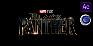 Black Panther Intro Free Template