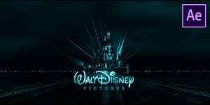 Disney Tron Intro Free Template