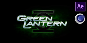 Green Lantern Intro Free Template