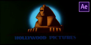 Hollywood Pictures Intro Free Template
