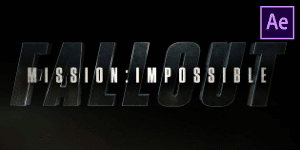 Mission Impossible Fallout Intro Free Template