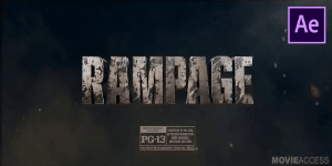 Rampage Intro Free Template