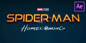 Spiderman Homecoming Intro Free Template